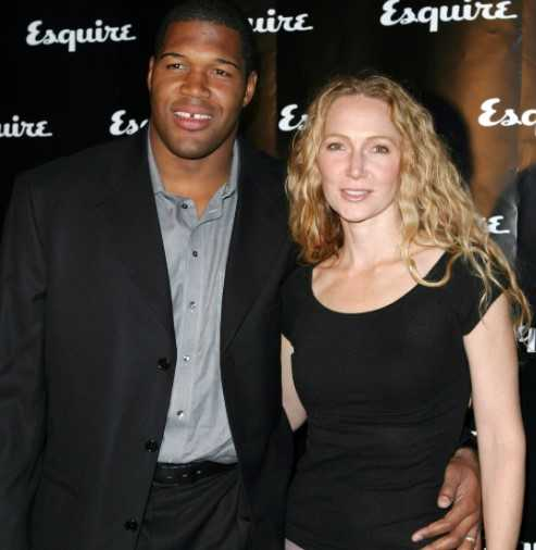 Jean Muggli with her ex-husband Michael Strahan.