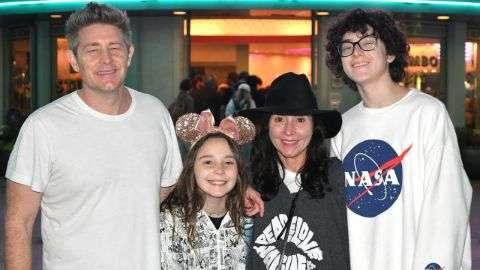 Wyatt Nash with his parents.