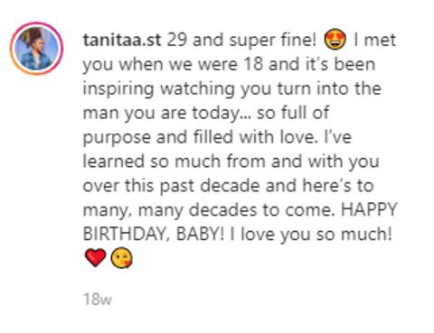 Tanita Strahan's post snip.