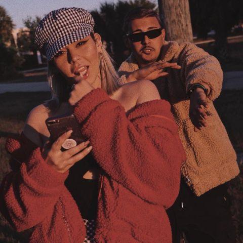 Jesaaelys Gonzalez and Her Boyfriend.