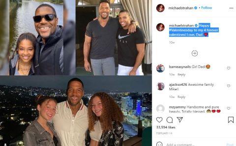 Michael Strahan's Instagram Post.