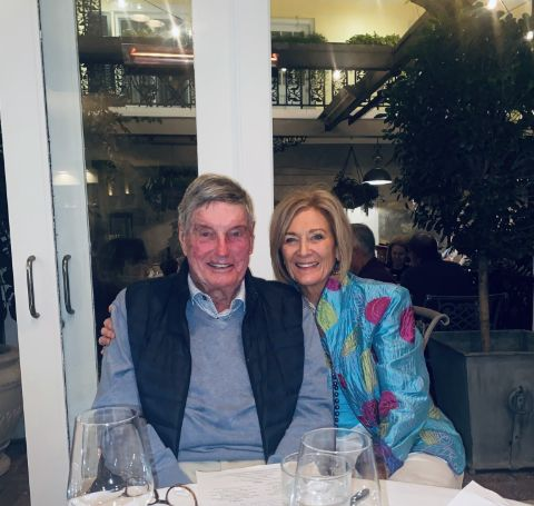 A photo of Ann Archambault's parents.