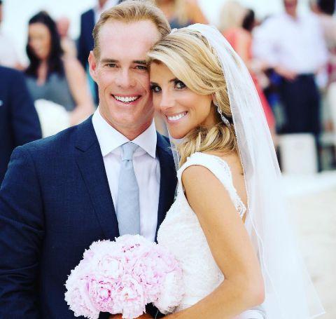 Michelle Beisner-Buck and Joe Buck's Wedding Picture.