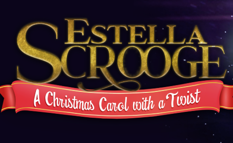 Little Miss Scrooge play banner.