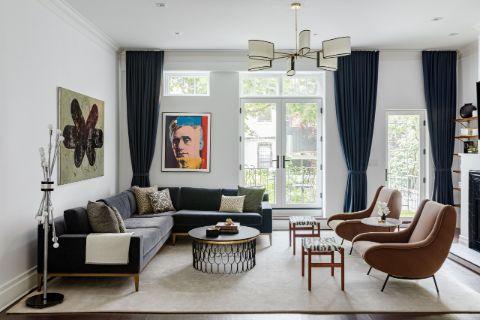 A photo of Dan Abrams' NY house.