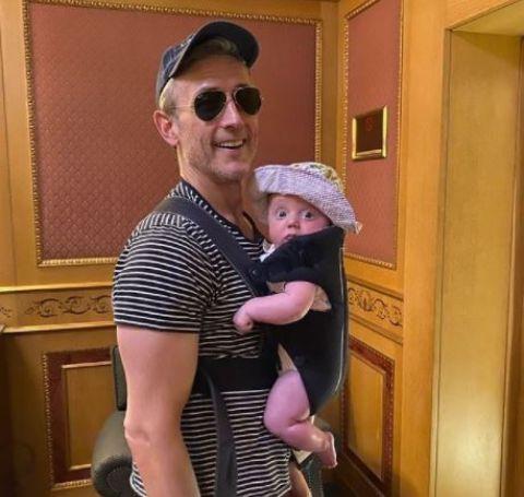 Dan Abrams with his daughter, Emilia Abrams.