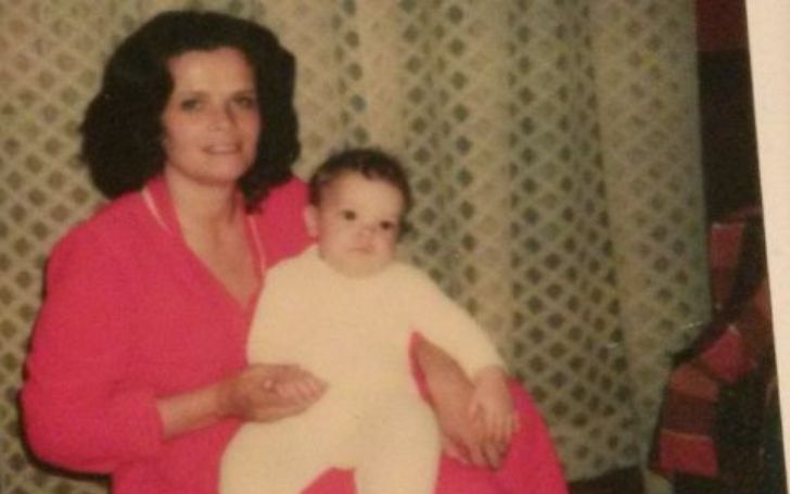 A photo of Naomi Kay Fleming and his son.