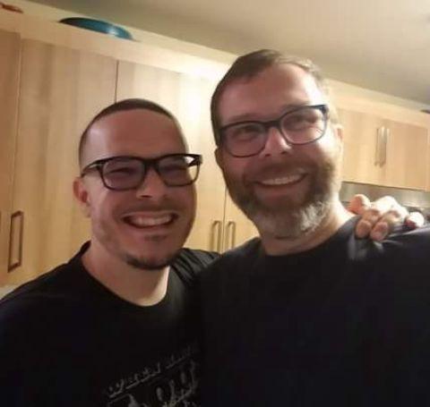 Shaun and his brother Jason King.